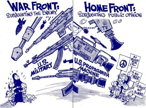 vastahegemoninen näkemys USA:n sodista