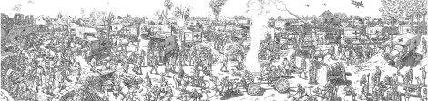 The Great War, Kuva: Joe Sacco / Jonathan Cape
