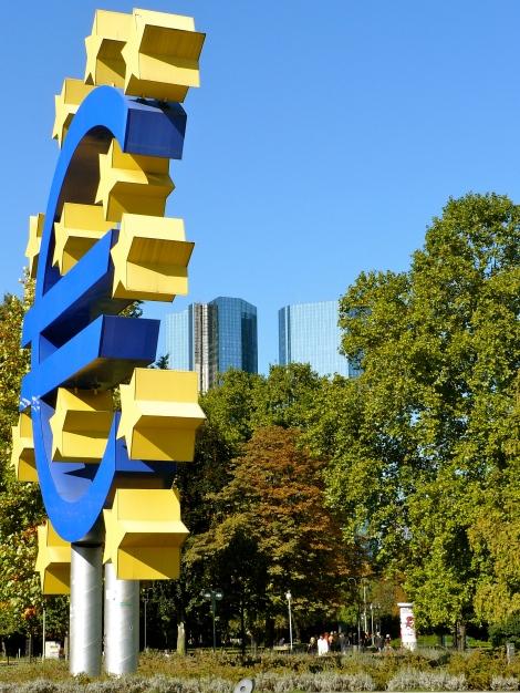 EKP:n kotikaupunki on Saksan Frankfurt. Kuva: Wikipedia.