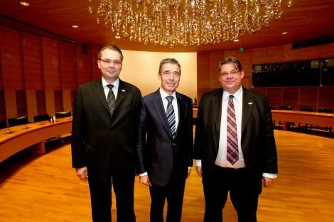 NATO Secretary General Anders Fogh Rasmussen visits Finland
