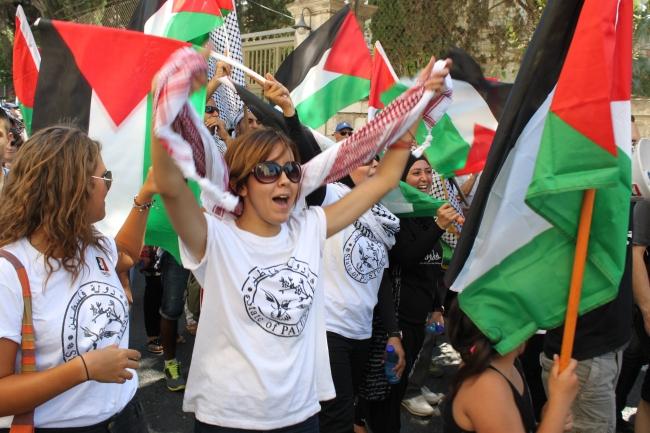 Ainakin jotkut palestiinalaiset uskonevat olevansa olemassa. Kuva: Timo R. Stewart