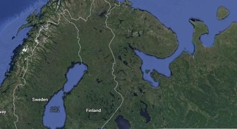 Suomen ja Venäjän federaation välinen raja on noin 1340 kilometriä.