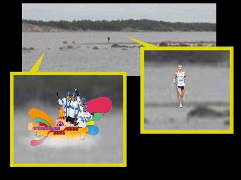 Saamamme kuvamanipulaatio paljastaa pääministerin ja vedessä odottavan Stubbmariini-aluksen.