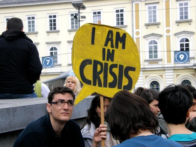 Yhä useampi eurooppalainen äänestäjä löytää ratkaisun äärioikeistosta. [Kuva: Darij&Ana, 'Antifa manifestacija', CC2.0]